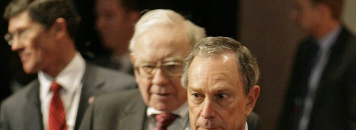 Michael Bloomberg Has Warren Buffett's Vote If He Runs For President