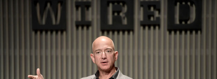 Jeff Bezos' Net Worth Through The Years