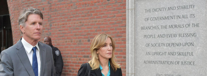Felicity Huffman Is Facing A Prison Sentence Because She Spent $.01 Too Much On College Testing Scheme