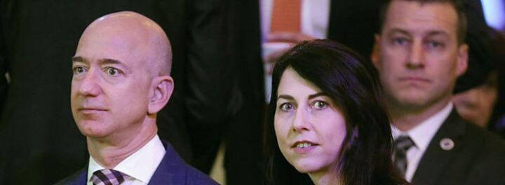 MacKenzie And Jeff Bezos Finalize Their Divorce - She Is Instantly Minted The Fourth Richest Woman In The World