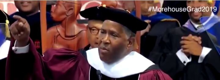 Robert F. Smith - The Richest Black Person In America - Just Did Something Incredible During His Morehouse Commencement Speech