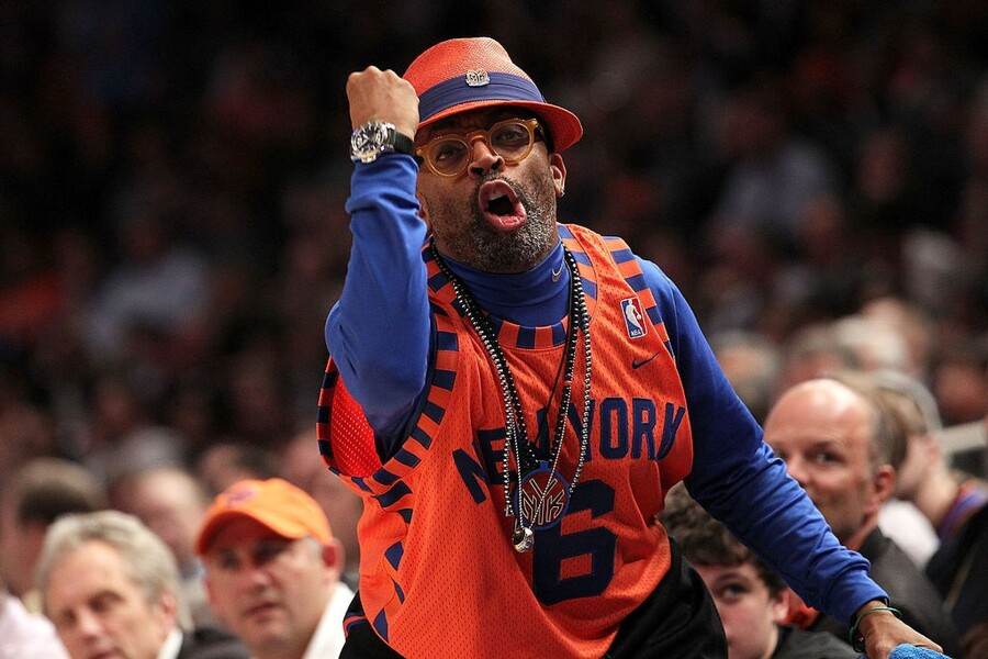 Spike Lee Courtside Seats