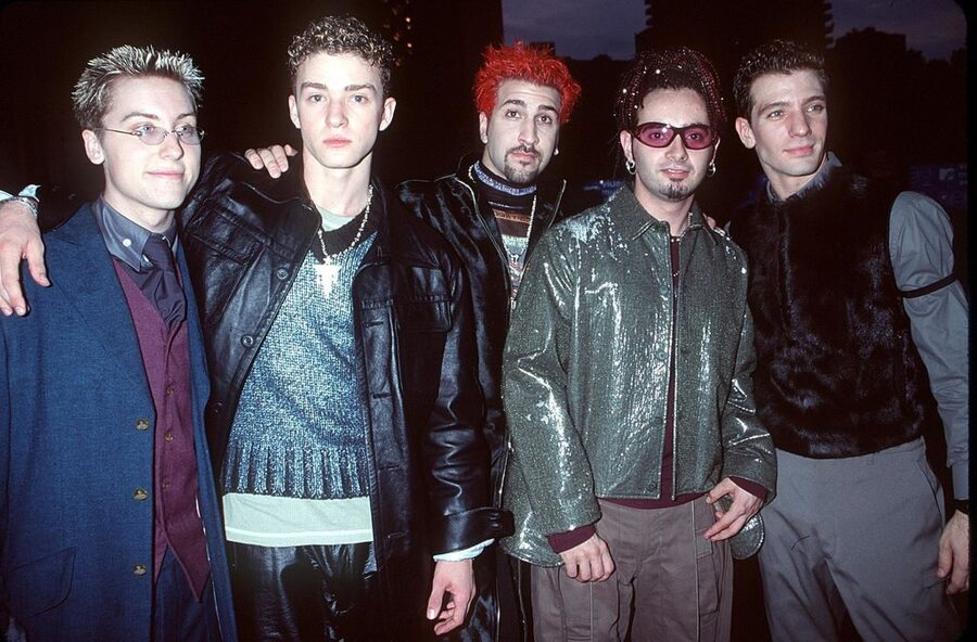 'NSync in the 90s