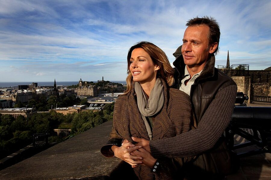 Ernesto Bertarelli and wife Kristy