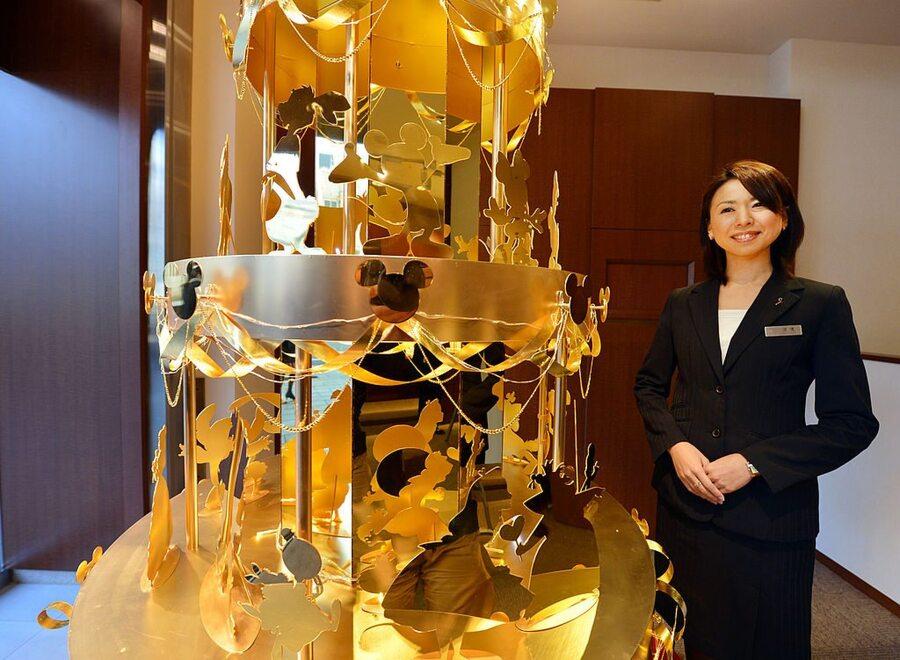 $4.2 Million Gold Disney Christmas Tree