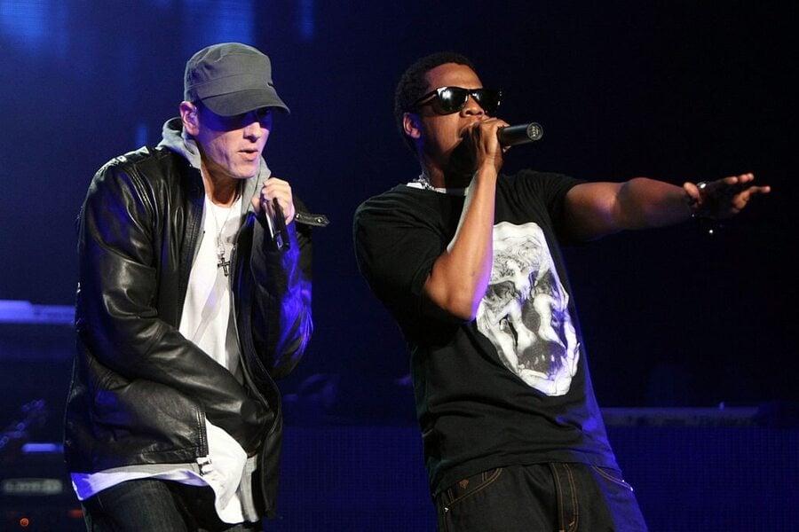 Jay-Z and Eminem