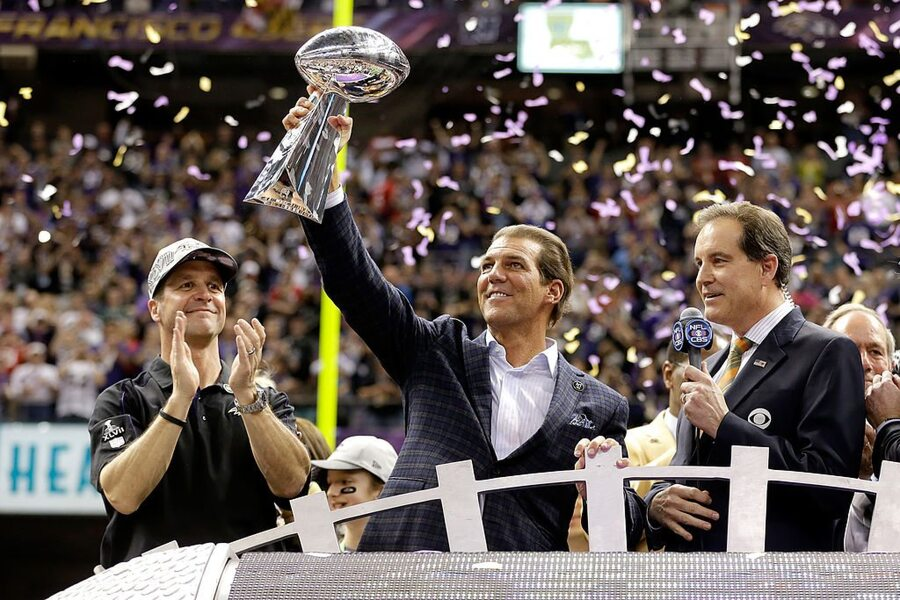Stephen Bisciotti Superbowl Champ