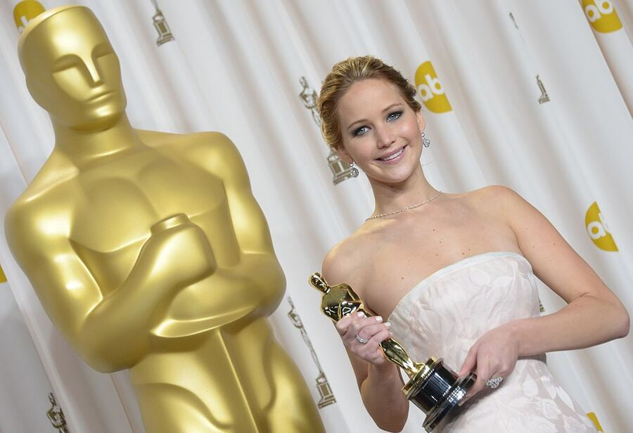 Jennifer Lawrence Oscar Winner