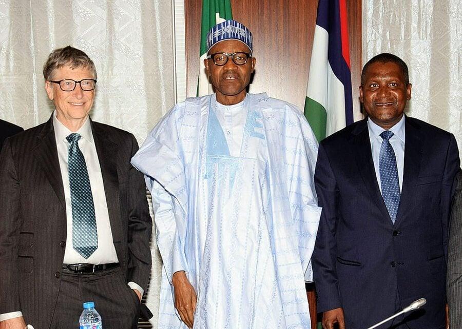 Bill Gates and Aliko Dangote
