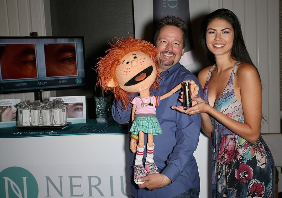 Terry Fator and Taylor Makakoa / Gabe Ginsberg/Getty Images