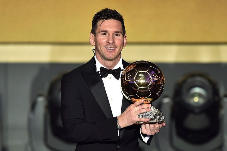 Messi's Fourth Ballon D'Or