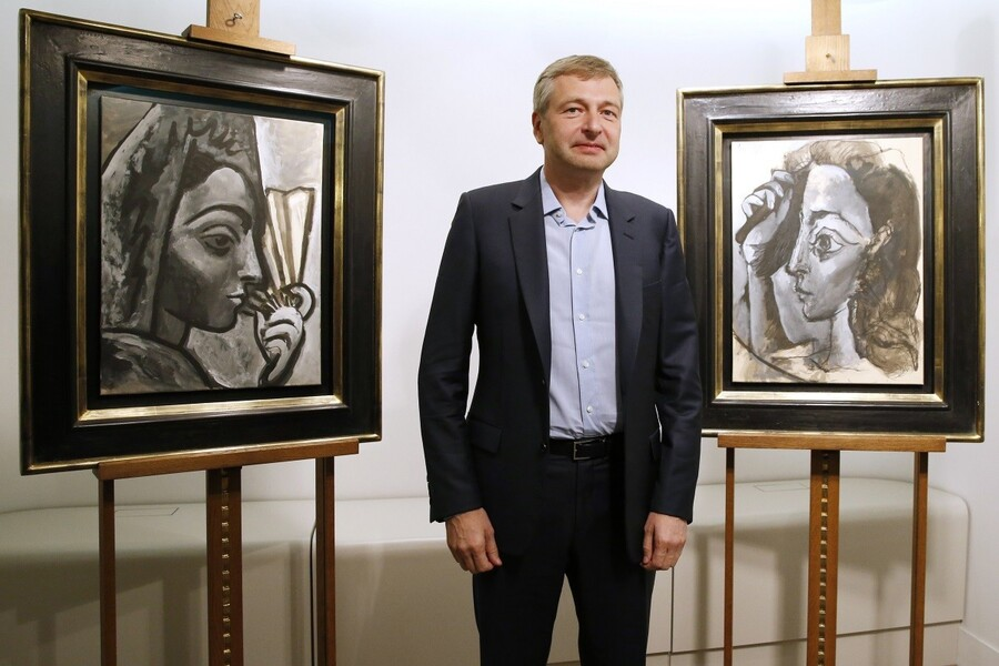 Dmitri Rybolovlev. AFP PHOTO / PATRICK KOVARIK