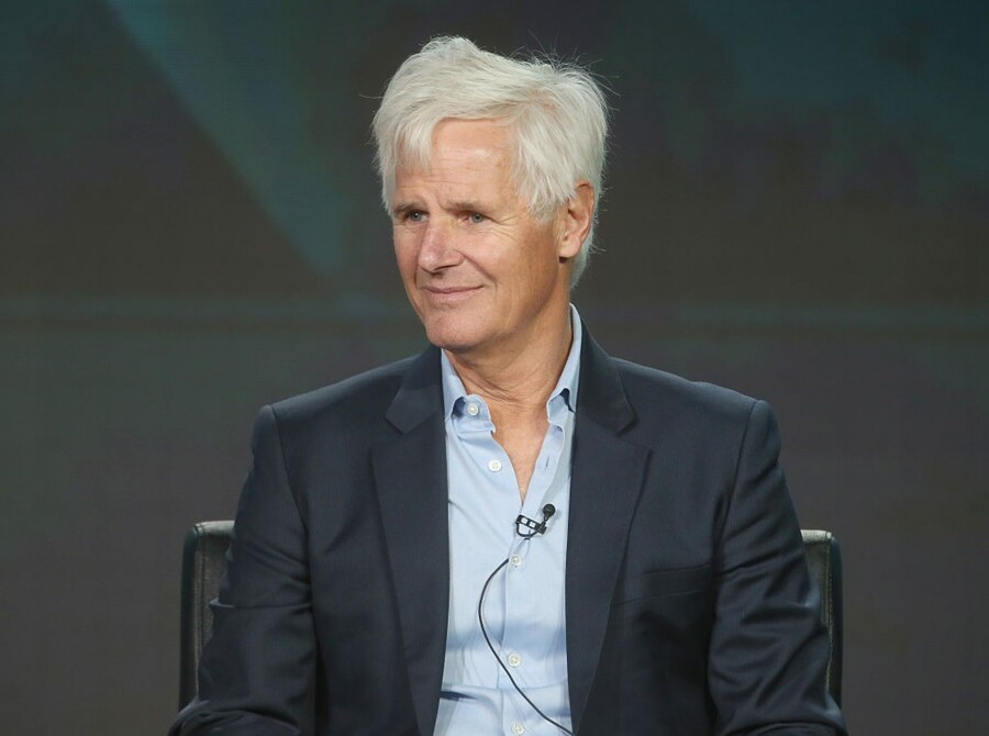 "speak onstage during ""The X-Files"" panel discussion at the FOX portion of the 2015 Winter TCA Tour at the Langham Huntington Hotel on January 12, 2016 in Pasadena, California"