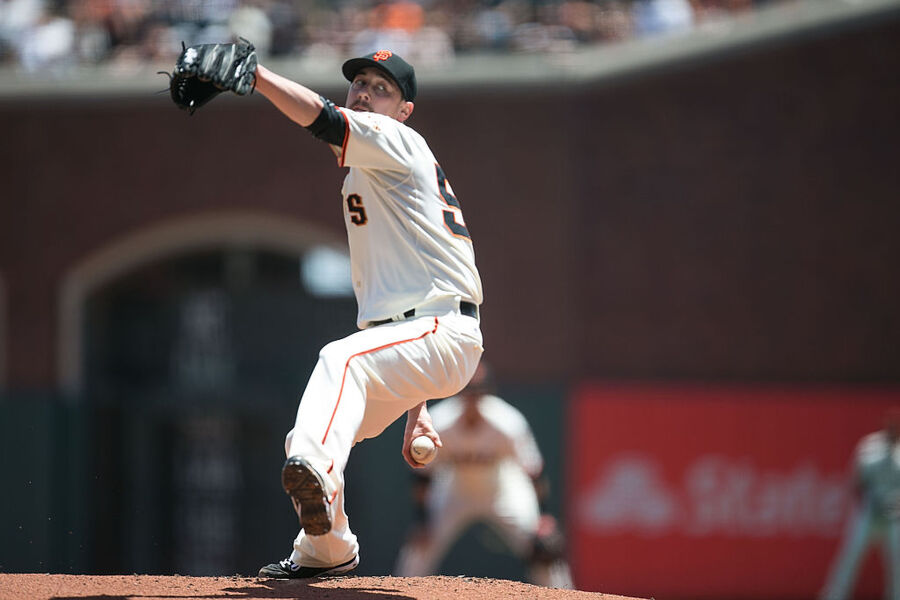 SAN FRANCISCO, CA - JUNE 27: Starting pitcher Tim Lincecum #55 of the San Francisco Giants pitches against the visiting Colorado Rockies in the first inning at AT&T Park on June 27, 2015 in San Francisco, California. (Photo by Don Feria/Getty Images)