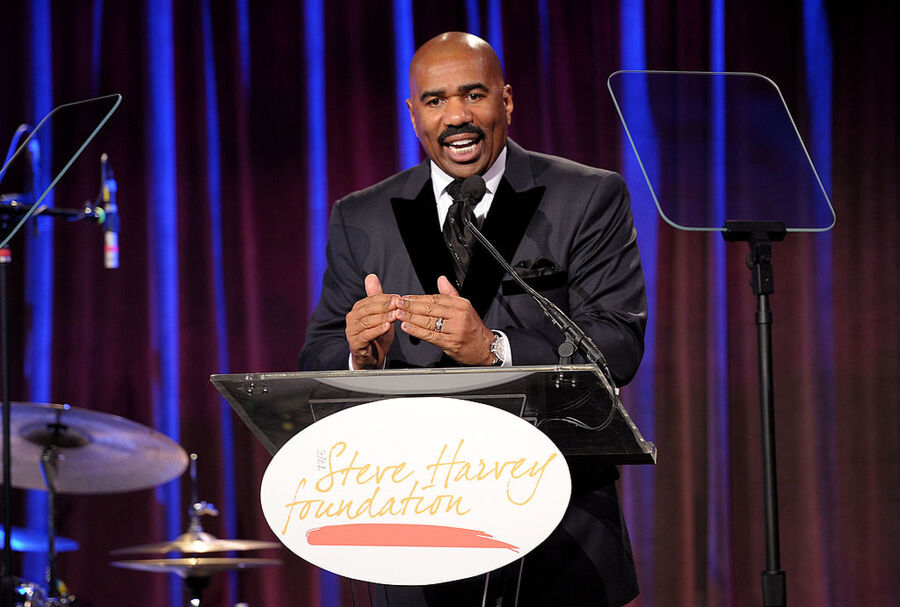 (Getty Images for The Steve Harvey Foundation)