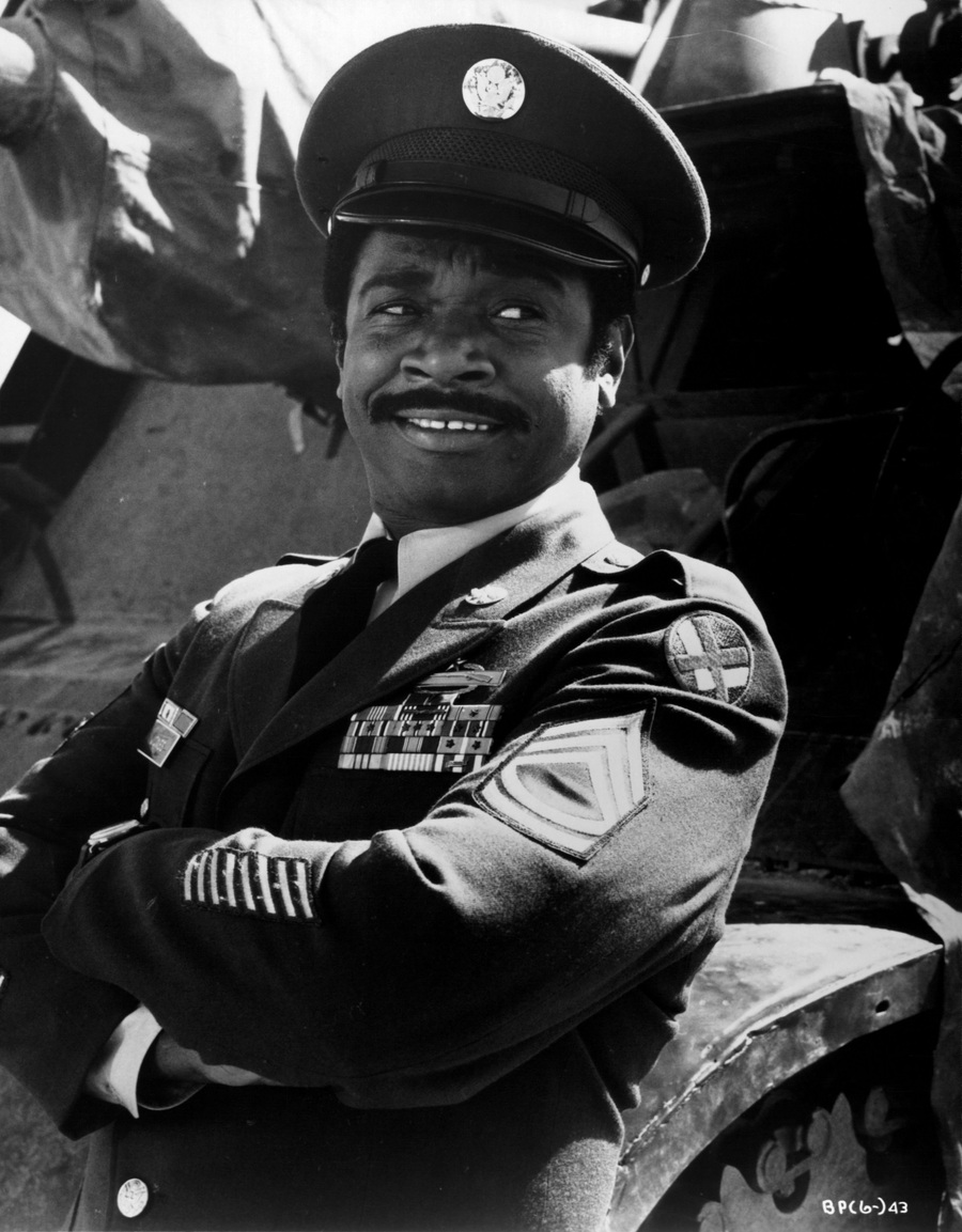 "CIRCA 1970: Actor Ivan Dixon in a scene from the movie ""Suppose They Gave a War and Nobody Came?"" circa 1970."