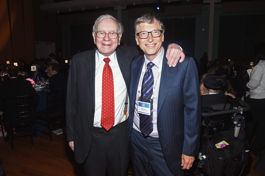 Warren Buffett and Bill Gates - Top 30 Richest People