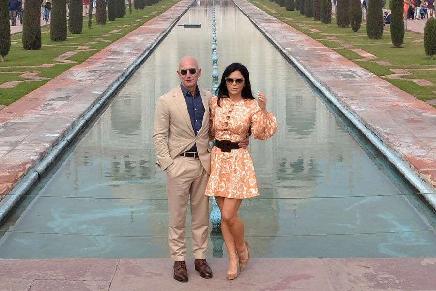 Jeff Bezos and Lauren Sanchez - The Richest Man in the World