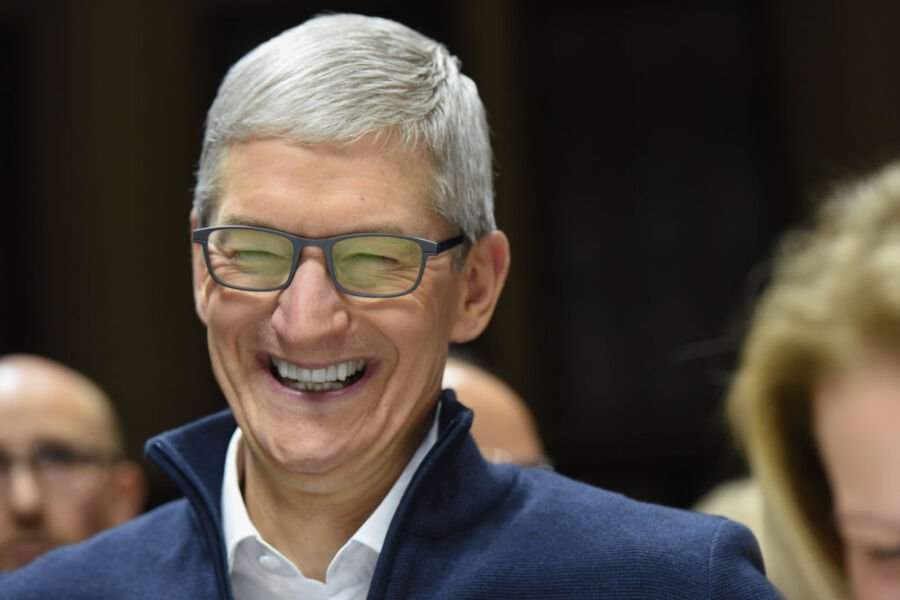 Tim Cook joins billionaires' club after rise in Apple's market cap