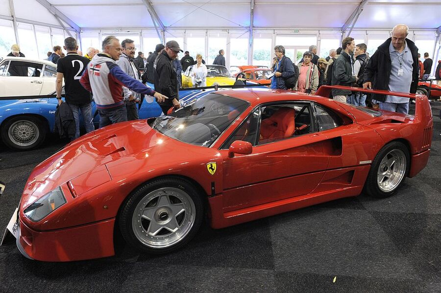 Ferrari F40 Auction