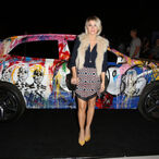 Julianne Hough:  Continuing Her Entertainment Assault in a New Car