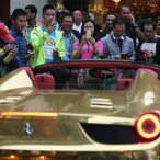 Mega-Rich Saudi Billionaire Turki Bin Abdullah Gets Around London In Fleet Of Golden Cars
