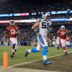 Luke Kuechly Is Taking Endorsment Of A Product To The Next Level