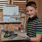 This 13-Year-Old Artist Has Sold $3.2 Million Worth Of Paintings