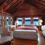 The World's Largest Log Cabin Is Located In Michigan And It's FOR SALE