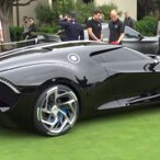 Bugatti's $18.7 Million La Voiture Noire, The Most Expensive New Car Ever Sold, Makes Its American Debut