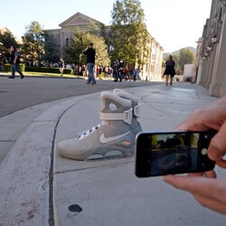 First pair of Back to The Future Nike Air Mags sell for $37,500