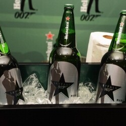 Heineken Pays $45M For James Bond's Endorsement