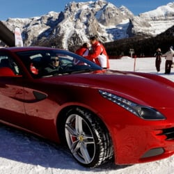 Ian Poulter's Car:  A Custom Made Ferrari for a Funky Golfer