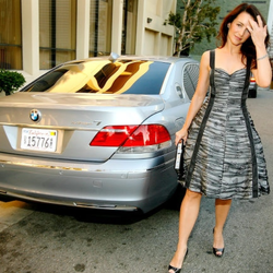 Kristin Davis' Car:  She's Not Just Fashion Conscious