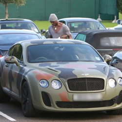 Mario Balotelli's Car:  He Actually Made a Bentley Ugly...