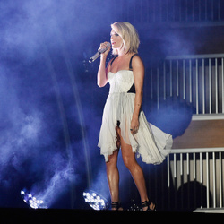 Carrie Underwood's House:  The Country Star Sheds a Bit of Her American Idol Past