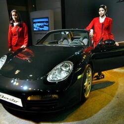 Ashley Tisdale's Car:  Don't Box This Disney Starlet In... Unless It's a Porsche