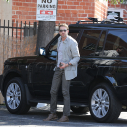 Gerard Butler's Car:  You Can Take the Man Out of Scotland, But...