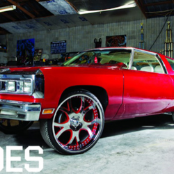 Zach Randolph's Car:  Taking the Chevrolet Impala to a Whole New Level
