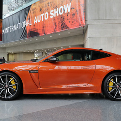 Kelly Rowland's Car:  The Destiny's Child Alum Drives Into the Future in a Jaguar F-Type