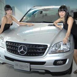 Selma Blair's Car:  A New Mercedes as Retail Therapy