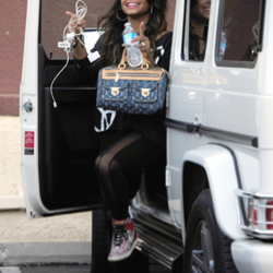 Christina Milian's Car:  Her Stellar Garage Outshines the Mirror Ball