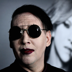 Marilyn Manson's House:  The Hard Rocker Gets Domesticated