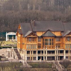 The President Of Ukraine Makes $115k A Year... Yet Somehow Owns This Sprawling $100 Million Lakefront Palace. Hmmm...
