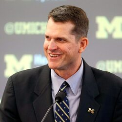 Jim Harbaugh's New Contract Makes Him Among The Top 5 Highest-Paid Coaches