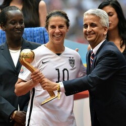 Carli Lloyd's Popularity Is Skyrocketing – But Will Her Bank Balance Do The Same?
