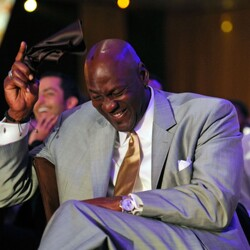 Imagine Betting $100k On A Game Of Rock, Paper, Scissor... Michael Jordan Takes That Action All Day Long...