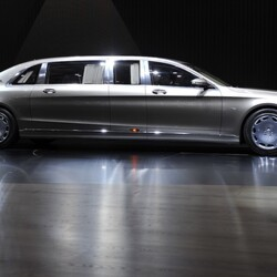 Here's The $600 Thousand Mercedes-Maybach Pullman Limousine That Drake Is Obsessed With