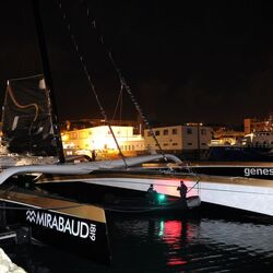 Billionaire Dona Bertarelli Attempting Around-The-World Sailing Record