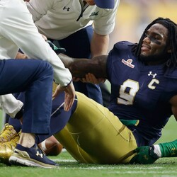 Former Notre Dame LB Jaylon Smith Stands To Make $5 Million From Insurance Policy Depending On Draft Fall